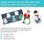 Happy Healers (Great Hot and Cold Packs for Kids 30 Packs per Case)